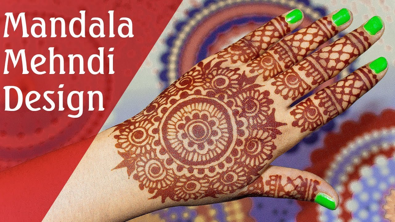 Mehndi Designs Please : Full hand mehendi design circular mandala mehndi tutorial